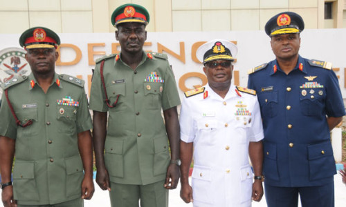 Nigerian Service Chiefs- Source Olisa.tv