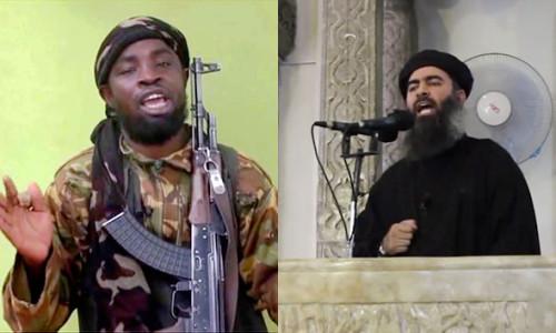 Boko Haram Leader: Abubakar Shekau and ISIS leader: Al-Baghdadi