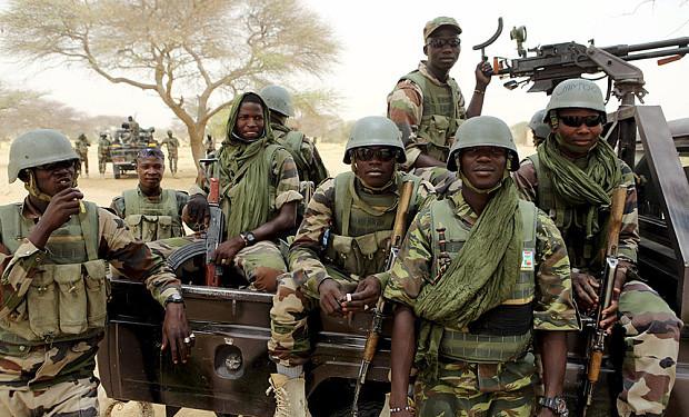 boko haram defeat by military _ men