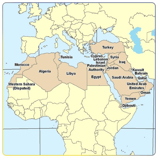 Middle Eastern and North African Countries. The Syrian Crisis affects many African nations especially those in North Africa.