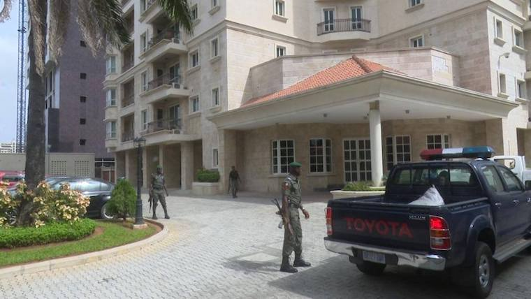 Ikoyi Apartment where hidden $43 million was recovered