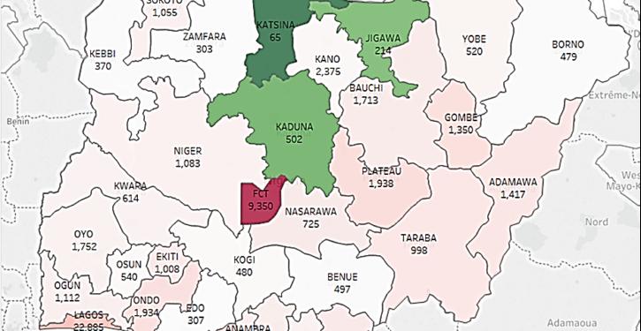 Bulwark Intelligence Map of 2016 Crime in Niger Per Capita